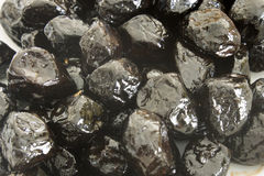 Aceitunas negras secadas al sol Imagen de archivo