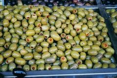 Aceitunas verdes Foto de archivo