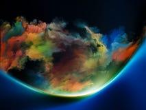 Aceleración de colores Fotografía de archivo