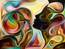 Aceleración de colores internos ilustración del vector