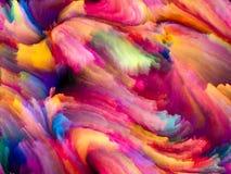 Aceleración del color del fractal imagen de archivo