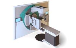 Acelerador linear Fotografía de archivo