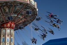 Acene o passeio justo do boêmio na feira do estado de Texas Imagens de Stock