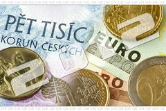 Aceptación de dinero en circulación Fotos de archivo