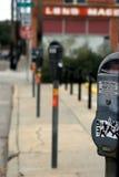 Acera céntrica de la calle Imagen de archivo