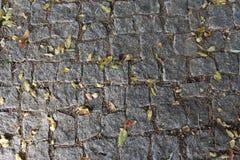 Acera de piedra Imagen de archivo libre de regalías