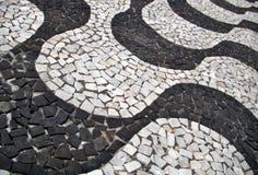 Acera tradicional en el Brasil Fotos de archivo