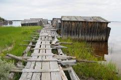 Acera vieja al resbalón abandonado doc. fotos de archivo