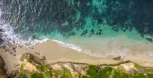 Acercamento do Oceano Pacífico fotografia de stock