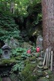 Acercamiento del ji Yamadera de Risshaku en Yamagata foto de archivo libre de regalías