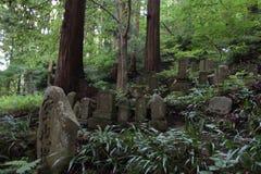 Acercamiento del ji Yamadera de Risshaku en Yamagata fotos de archivo libres de regalías