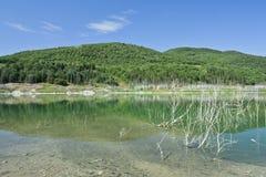 acerenza湖 免版税库存照片
