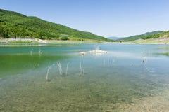 acerenza湖 免版税图库摄影