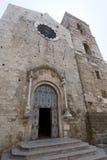 Acerenza (Basilicata, Italien) Kathedralefassade Lizenzfreie Stockfotografie
