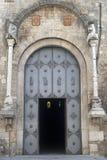 Acerenza (Basilicata, Italien): Kathedraletür Lizenzfreie Stockfotografie