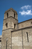 Acerenza (Basilicata, Italien): mittelalterliche Kathedrale Lizenzfreies Stockfoto