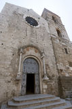 Acerenza (Basilicata, Italy) cathedral facade Royalty Free Stock Photography