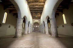 Acerenza (Basilicata, Italy): cathedral interior Royalty Free Stock Images