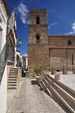 Acerenza, Basilicata, Italy. The Santa MAria Assunta cathedral. Stock Photos