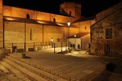 Acerenza, Basilicata, Italy. The Santa MAria Assunta cathedral. Royalty Free Stock Photo