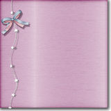 Acero aplicado con brocha color de rosa Fotografía de archivo libre de regalías