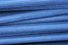 Acero azul Imágenes de archivo libres de regalías
