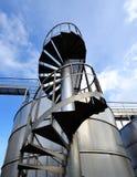 Acero de acero del material de industry Foto de archivo libre de regalías