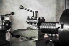 Acero de herramienta del trabajo de la máquina del torno de la industria imagen de archivo libre de regalías