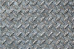 Acero de la placa del diamante Imagen de archivo libre de regalías