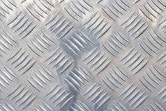 Acero de plata con el fondo metálico brillante Foto de archivo