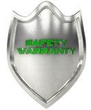 Acero del escudo de la seguridad Fotos de archivo libres de regalías