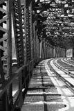 Acero del ferrocarril imágenes de archivo libres de regalías
