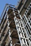 Acero estructural foto de archivo libre de regalías