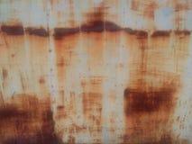 Acero oxidado Imágenes de archivo libres de regalías