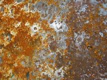 Acero oxidado Fotos de archivo