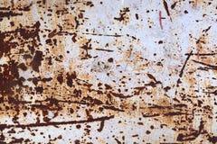 Acero oxidado del metal del Grunge Imagenes de archivo