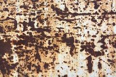 Acero oxidado del metal del Grunge Fotografía de archivo