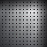 Acero perforado Imagen de archivo libre de regalías
