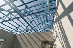 Acero Roof-16 Fotos de archivo
