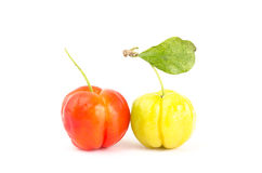 Acerola cherry Royalty Free Stock Images
