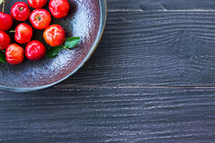 Acerola cherry Royalty Free Stock Image