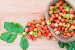 Acerola Cherry Stock Photo