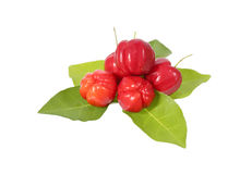 Acerola fruit Stock Photo