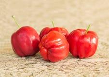 Acerola fruit Royalty Free Stock Photo