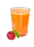Acerola juice Stock Image