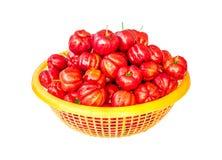 Acerolafrucht Lizenzfreie Stockfotografie