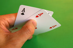 Aces royalty free stock photo