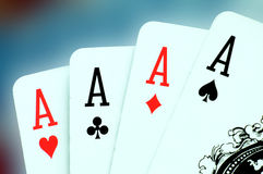 Aces Royalty Free Stock Photography