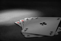 Aces cards Royalty Free Stock Photo