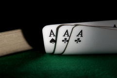 Aces cards Stock Image